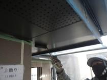 軒天井上塗り1