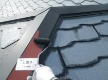 屋根鋼板上塗り1