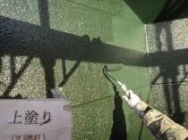 外壁 上塗り2回目2