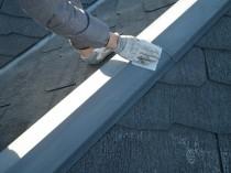 屋根鋼板ケレン1