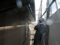 高圧洗浄外壁2