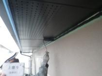 軒天井上塗り2