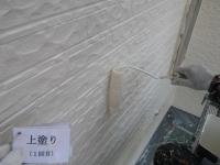 外壁上塗り1回目1
