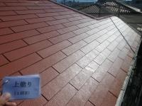 屋根 上塗り1回目1