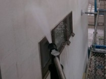 外壁 高圧洗浄②