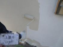 外壁 上塗り1回目3