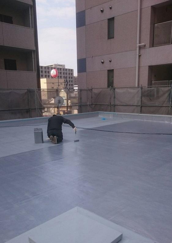 屋根診断・・・FRP防水