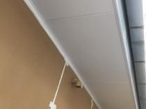 軒天井 上塗り2回目1