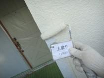 外壁 上塗り1回目2