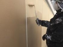 外壁 上塗り2回目4