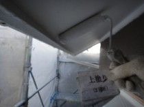 軒天井 上塗り2回目2