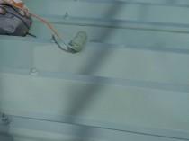 鋼板屋根 上塗り2回目2