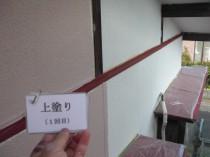 外壁上塗り1回目 (3)