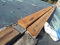 屋根鋼板張替 (2)