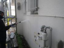 外壁 高圧洗浄3