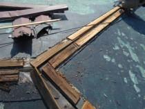 屋根鋼板張替