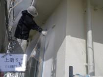 外壁 上塗り1回目1