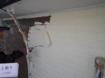 外壁 上塗り1かめ