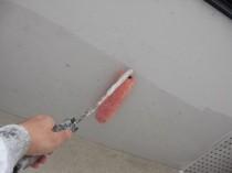 軒天井下塗り1
