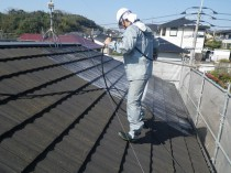 屋根 バイオ洗浄