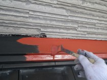 屋根鋼板 錆止め