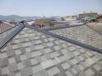 新規屋根設置