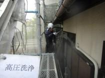 高圧洗浄 外壁1