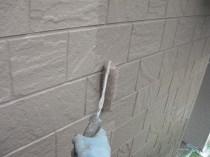 外壁 上塗り2回目 (2)