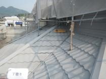 屋根 下塗り (2)