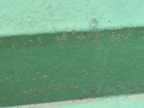 バルコニー床 塗膜剥離