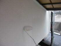 外壁 上塗り」2回目
