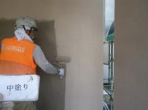 外壁 中塗り (9)