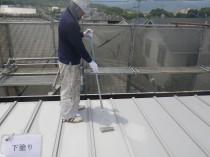 屋根 下塗り (4)