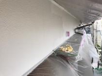 外壁 上塗り2回目 (1)