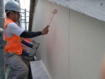 外壁 上塗り2回目 (11)