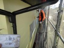外壁2階 上塗り2回目 (4)