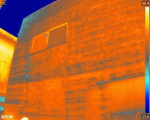 建築・建設業と赤外線カメラと塗装屋