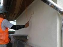 外壁 上塗り2回目 (10)