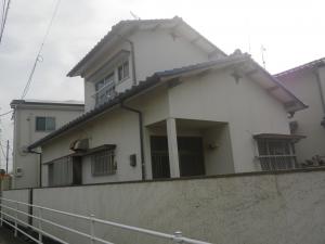糸島市篠原西N様【外壁素材:モルタル】:施工前