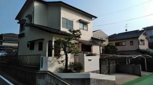 福岡市中央区平和S様邸【外壁素材:モルタル 屋根素材:セメント瓦】:施工後