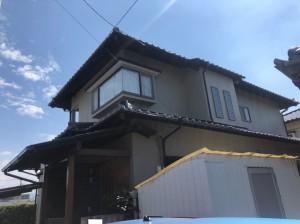 福岡市西区下山門N様邸【外壁素材:モルタル、木】:施工後