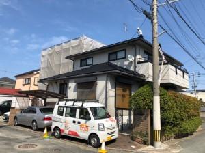 福岡市西区小戸G様【外壁:窯業系サイディング板 屋根:スレート瓦】:施工前