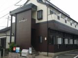 北九州市小倉アパート【外壁素材:窯業系サイディング・屋根素材:スレート瓦】