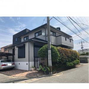 福岡市西区小戸G様【外壁:窯業系サイディング板 屋根:スレート瓦】:施工後