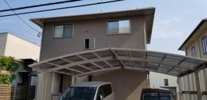 糸島市南風台M様邸【外壁:窯業系サイディング板 屋根:スレート瓦 付帯塗装】:施工前