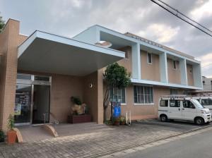 筑後市病院【外壁:PC板、タイル 屋根:屋上防水】:施工前