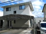 糸島市南風台M様邸【外壁:窯業系サイディング板 屋根:スレート瓦 付帯塗装】