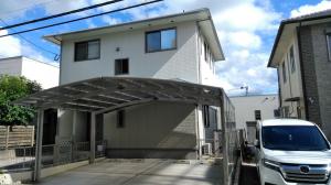 糸島市南風台M様邸【外壁:窯業系サイディング板 屋根:スレート瓦 付帯塗装】:施工後