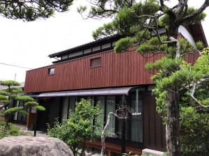 福岡市西区女原M様邸【外壁:木 屋根:陶器瓦 付帯塗装】:施工後
