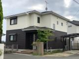 福岡市東区青葉O様邸【外壁:窯業系サイディング板 屋根:スレート瓦】